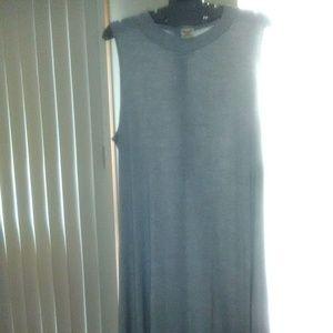 BOGO Faded Glory Mock Neck Knit Tank Dress EUC!